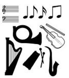 Musical Note,Musical Symbol,Harp,Music,Musical Instrument,French Horn,Classical Music,Vector,Sheet Music,Black Color,Isolated,Symbol,Trumpet,Violin,Classical Style,Chord,White,Harmony,Wind Chime,Singing,Group of Objects,Art,String Instrument,Musical Instrument String,Design Element,Ilustration,Collection,Isolated Objects,Illustrations And Vector Art,Brass,Arts And Entertainment,Set,Music,Energy,Sound,Painted Image,Composition,Creativity