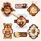 Design,Badge,Insignia,Label,Sign,Bean,Espresso,Latte,Isolated,Style,Coffee - Drink,Coffee Grinder,Design Element,Cookie,Store,Postage Stamp,Set,Restaurant,Cinnamon,Machinery,Cup,Vector,Heat - Temperature,Colors,Jar,Ilustration,Cappuccino,Nature,Banner,Symbol,Home Interior,Pouch,Drink,Cafe,Sugar,Cooking Pan,Bag,Cream,Mug