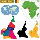 Cameroon,republic,Yaounde,Douala,Central Africa,Africa,province,region,Politics,Territorial,Ilustration