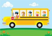 School Bus,Bus,Education,Cartoon,Child,Preschool,Car,School Children,Yellow,Elementary Student,Ilustration,Driver,Road,Vector,Field Trip,People,Student,Journey,Stop Sign,Driving,Transportation,Little Boys,Group Of People,Little Girls,Happiness,Cheerful,Land Vehicle,Smiling,Vacations,Fun,Childishness,Childhood,Multi Colored,Flower,Men,Youth Culture,People Traveling,Thoroughfare,Babies And Children,Transportation,Education,Industry,Lifestyle