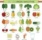 Pineapple,Ilustration,Food,Vegetable,Vector,Food And Drink,Healthcare And Medicine,Soy Milk,Juice,Pear,Cherry,Papaya,Fruit,Spinach,Cucumber,Banana,Carrot,Grape,Yogurt,celary,Melon,Kale,Romaine,Broccoli,Boston Lettuce,Creativity