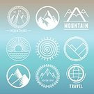 Mountain,Sign,Mountain Range,Badge,Symbol,Computer Icon,Landscaped,Landscape,Water,Concepts,Sierra,Snow,Ideas,Rock - Object,Outline,Curve,Wreath,Extreme Sports,Single Line,Achievement,Banner,Vector,Climbing,Mountain Peak,Nature,Hill,Sun,Insignia,Set,Sky,Silhouette,Collection,Physical Geography,Blue,Clambering,Cliff,Travel,Circle,Design,High Section,Placard,Design Element,Computer Graphic,Outdoors,Label,Contour Drawing