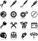Motorcycle,Mechanic,Icon Set,Symbol,Tire,Computer Icon,Piston,Wrench,Black Color,Communication,Vehicle Part,Engine,Sports Helmet,Flag,Computer,Cycling,Internet,Set,Technology,Collection,Repairing,Ilustration,Connection,Service,Design Element,Sign,Biker,Speed,Old-fashioned,Spanner,Garage,Wheel,Vector,Key,Motorcycle Racing,Retro Revival,Design,Electric Motor,Telephone,Adjustable Wrench,Web Page,Business,Land Vehicle,Isolated,Mobile Phone,Riding,Sports Glove,user