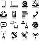Computer Icon,Symbol,Communication,Global Communications,Icon Set,Television Broadcasting,Television Set,Satellite Dish,Telecommunications Equipment,Connection,comment,Discussion,Computer,Equipment,Tower,Technology,Business,Social Issues,Vector,Black Color,Broadcasting,Camera - Photographic Equipment,Web Page,Sign,Radio,Isolated,Video,Speech,Collection,Set,Design Element,People,E-Mail,Ilustration,Mobile Phone,Digital Tablet,Design,Telephone,Internet,user,The Media
