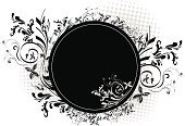 Flower,Floral Pattern,Single Flower,Black Color,Design,Swirl,Circle,Backgrounds,Frame,White,Vector,Abstract,Ornate,Decoration,Art,Leaf,Scroll Shape,Modern,Ilustration,Shape,Sparse,swish,Curled Up,Copy Space,accent,Composition,Empty,Vector Ornaments,Vector Florals,Illustrations And Vector Art,Vector Backgrounds
