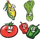 Corn,Tomato,Vegetable,Corn - Crop,Plant,Cooking,Leaking,Food,Red And Green Peppers,Cooking,Food And Drink,Eating