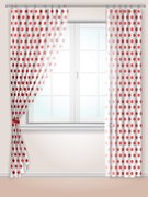 Window,Domestic Kitchen,Kitchen,Curtain,Home Interior,House,Wind,Wall,Indoors,Curve,Decor,Illuminated,Textile,Cornice,Spotted,Bright,Style,White,Circle,Elegance,Retro Revival,Polka Dot,Folded,Part Of,Vector,Comfortable,Appearance,Transparent