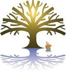 Apple Tree,Apple - Fruit,Tree,Missing Bite,Bible,Garden Of Eden,Original Sin,Christianity,Concepts,Spirituality,Ideas,Shadow,Multi Colored,Allegory Painting,Inspiration,Vector,Focus on Shadow,Illustrations And Vector Art,Concepts And Ideas,No People,Vibrant Color,Bright