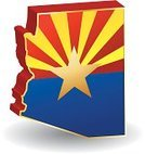 Arizona,Flag,Map,state,Three-dimensional Shape,Symbol,Cartography,Religious Icon,Vector,Travel Locations,Vector Icons,Reflection,Shiny,Illustrations And Vector Art