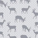 Animal,Pattern,Silhouette,Seamless,Zoo,Animals In The Wild,Symbol,Wildlife,auna,Season,Backgrounds,Simplicity,Sparse,Reindeer,Deer,Cute,Gray,Ilustration,Design,Holiday,Decoration,Christmas
