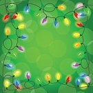 Christmas Lights,Decoration,Multi Colored,Light - Natural Phenomenon,Celebration,Light Bulb,Colors,Shiny,Hanging,String,Vibrant Color,Season,Backgrounds,Ilustration,Holiday,Bright,Ornate,Glowing,Frame,Christmas,Lighting Equipment,Vector,Chain Of Lights,Chain,Illuminated,Copy Space