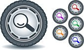 Tire,Religious Icon,Internet,Sign,Discovery,Information Sign,Vector,Computer Icon,Magnifying Glass,Interface Icons,Pushing,Ilustration,Information Symbol,Web Page,Control,Set,Technology,Vector Icons,Technology Symbols/Metaphors,Illustrations And Vector Art