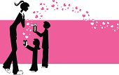 Mother,Heart Shape,Gift,Child,Silhouette,Valentine's Day - Holiday,Nanny,Women,Love,Family,Little Girls,Backgrounds,Giving,Vector,Banner,Pink Color,Little Boys,People,Sharing,Ilustration,Pajamas,Offspring,Friendship,Happiness,Female,Surprise,Aunt,Childhood,Copy Space,Smiling,Placard,big sister,Sister,Joy,One Parent,Emotion,Adult,Male,Brother,Sibling,heartfelt,Holidays And Celebrations,Lifestyle,People,Families,Unrecognizable Person,Full Length