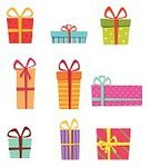 Gift,Christmas,Wrapping Paper,Collection,Winter,Multi Colored,Surprise - Arizona,Ribbon,Holiday