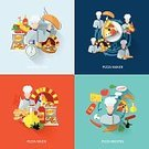 Flat,Food,Pizza,Vector,Computer Icon,Icon Set,Symbol,Infographic,Set,Ideas,Business,Concepts,Box - Container,Industry,Sign,Service,Internet,Slice,Making,Freshness,Sauces,Order,Cheese,Backgrounds,Dinner,Refreshment,Snack,Heat - Temperature,Lunch,Design Element,Communication,The Media,Abstract,Ilustration,Cooking,Isolated,Collection,Social Issues,Computer,Recipe,Italian Culture,Time,Eat,Cross Section,Technology,Meat,Gourmet,Ingredient