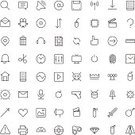 Symbol,Thin,Icon Set,Equipment,Television Set,Sound,Eps10,Design,Variation,Crime,Flat Design,Weapon,Vector,Sign,Movie,Disk,Clip Art,Connection,UI,Computer Graphic