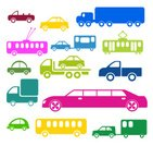 Tow Truck,Cute,Mode of Transport,Transportation,Vector,Limousine,Computer Icon,Bus,Design,Multi Colored,Collection,Fun,Child,Mini Van,Symbol,Land Vehicle,Cable Car,Toy,Van - Vehicle,Cartoon,Pick-up Truck,Vehicle Trailer,Truck,Car