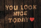 typographic,Sayings,Looking,Wood - Material,Plank,Emotion,Red,Love,Poster,Computer Graphic,Backgrounds,Vector,Motivation,Shoe,Ilustration,Typescript