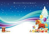 Abstract,No People,Toy,Gift,Backgrounds,Christmas Tree,Christmas