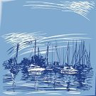 Harbor,Yacht,Sailing,Sketch,Sea,Woodcut,Sailing Ship,Passenger Ship,Ilustration,Water,Lake,Backgrounds,Wave,Summer,Design,Blue,Cloud - Sky,Pastel Drawing,Day,Sky,Reflection,Pastel Colored,Colors,Morning,Copy Space,White,Monochrome,Yacht-club,Colour-background,Color Image