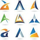 Sign,Triangle,Design,Letter A,Curve,Two-dimensional Shape,Design Element,Ilustration,Geometric Shape,Shape,Vector,Abstract,Clip Art,Text,Icon Set,Typescript,Style,Orange Color,Ideas,Set,typographic,Alphabet,Turquoise,Futuristic,Capital Letter,Green Color,Blue,Computer Icon,Symbol,Computer Graphic,Collection,Modern