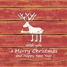 Christmas,Banner,Placard,Wood - Material,Grunge,Animal,Greeting,Elk,Plank,Rustic,Vector,Ilustration,White,Symbol,Red,Decoration,New Year,Textured Effect,Season,Winter,Holiday,Deer