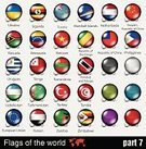 Isolated,Austria,Globe - Man Made Object,Brazil,Germany,Singapore,Korea,Insignia,Japan,UK,International Landmark,Clip,Set,South Africa,Spain,China - East Asia,Flag,Symbol,Monaco,Art,Concepts,Argentina,United Arab Emirates,Sign,Russia,England,Label,Israel,Sphere,Button,nation,Vector,Circle,National Landmark,Greece,Badge,Backgrounds,Straight Pin,Morocco,Costa Rica,Patriotism,Jamaica,Rural Scene,Business,Design