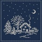 Woven,Backgrounds,Frame,Pattern,Footpath,Tree,Cardigan,Scandinavian Culture,Season,Sky,Village,Snowing,Paintings,Midnight,House,Residential Structure,Holiday,Craft Product,Ilustration,Sweater,Wallpaper Pattern,Textile,Non-Urban Scene,Nature,December,Outdoors,Textured Effect,Night,Vector,Snowflake,Snow,Fashion,fancywork,Seamless,Moon,Old-fashioned,Cold - Termperature,Winter,Decor,Christmas,Blue,Landscape,Wallpaper,Wool,Embroidery