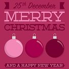 template,Christmas,Vector,Decoration,Greeting,Typescript,Abstract,Magenta,Winter,Pink Color,Ilustration,New Year's Eve