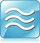 Blue,Pushing,Shiny,Web Page,Insignia,Design,Isolated,Wave,Internet,Water,Vector,Sign,Flood