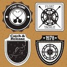 Bass,Fish,Fishing Reel,Perch,Vector,Frame,Float,Water,Fishing Industry,Text,Label,Sign,Banner,Sport,Collection,Fishing Hook,Badge,Ilustration,Design,Insignia,Symbol