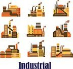 Power Station,Industrial Building,Symbol,Computer Icon,Factory,Oil Industry,Smoke - Physical Structure,Energy,Isolated,Power,Electricity,Environment,Pipeline,Sign,Design,Equipment,Chemical Plant,Computer Graphic,Engineering,Fuel and Power Generation,Silhouette,Concepts,Business,Ideas,Finance,Chimney,Infographic,Vector,Industry,Technology,Manufacturing,Refinery,Flat,Construction Industry,Building Exterior,Pollution