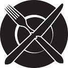 Table Knife,Plate,Fork,Symbol,Lunch,favorite,Rank,Computer Icon,rating,Domestic Kitchen,Looking At View,Blank,Ilustration,Crossing,Silverware,Table,Dinner,Kitchen Utensil,Restaurant,On Top Of,Food,Serving Size,Setting,Vector,Isolated,Crockery,Backgrounds,Set,White