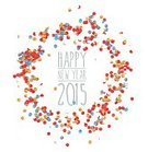 Paper,Anniversary,New Year's Eve,2015,New Year's Day,New Year,Confetti,Greeting Card,December,Text,Holiday,Abstract,Decoration,Day,January,Fun,Circle,Countdown,Event,Celebration,Multi Colored,Year,Backgrounds,New,Party - Social Event,Sign,Symbol,Poster,Label,Christmas,Time,Traditional Festival,Vector,Calendar