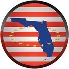 Florida,state,Symbol,Red,White,Blue,Computer Icon,Circle,Patriotism,Striped,Yellow,Square,Digitally Generated Image,Star Shape,Isolated On White,Vector,Illustrations And Vector Art,No People,Single Object,Ilustration,Color Image