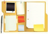 File,Adhesive Note,Paper,Note Pad,Office Interior,Letter,Paper Clip,Lined Paper,Vector,Document,Photograph,Office Supply,Page,Blank,Torn,Manila Paper,Computer Graphic,Instant Print Transfer,Dirty,Isolated,Equipment,Data,Brown