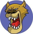 Animal Head,Mountain Lion,Lynx,Big Cat,Animals In The Wild,Snarling,Wildcat,Extreme Terrain,Aggression,Wildlife,Zoo,Cartoon,Mascot,Feline,Mammal,Animal Themes,Vector,Ilustration,Color Image,Confrontation,Fang,Black And White,Digitally Generated Image,Design Element,Animal,Clip Art,Sports Symbols,Wilderness Area,Animals And Pets