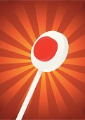 Lollipop,Police Force,Stop,Warning Sign,Red,White Background,Vector,Speed