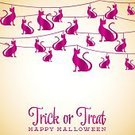 Paper Chain,Flag,Fear,Heckling,Spooky,Halloween,30-34 Years,Animal,Magenta,Greeting,Rope,Event,Invitation,Hello,Old-fashioned,Bizarre,Evil,Ornate,Pink Color,October,Indulgence,Celebration