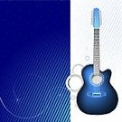 Guitar,Electricity,acoustics,Vector,Vector Backgrounds,Music,Acoustic Resonance,accords,Ornate,Illustrations And Vector Art,Arts And Entertainment