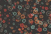 Clothing,Elegance,Soft Focus,Red,Multi Colored,Pattern,Material,Textile,Paper,Cultures,Fragility,Backgrounds,Beige,Illustration,Textured,No People,Vector,Backdrop,seamless texture,Vintage Wallpaper,Old Wallpaper,Seamless Pattern,Ornament Paper,Old Paper Texture