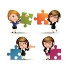 Business,Adult,Illustration,Cartoon,Women,Businesswoman,Vector,Characters,