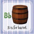 Barrel,Symbol,Handwriting,Single Word,lowercase,Socialist International,Fun,Liquid,Wood - Material,Teaching,uppercase,Learning,Reading,Flash Card,Large,Vector,Sign,Education,Alphabet,Preschool,Elementary Age,spellings