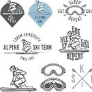 Skiing,Ski,Old-fashioned,Ski Slope,Retro Revival,Ilustration,Badge,Symbol,Computer Icon,Design Element,Scandinavian,Scandinavian Culture,Nordic Countries,Vector,Face Guard - Sport,Winter,Travel,Slalom Skiing,Mountain,Extreme Sports,Cold - Termperature,Equipment,Award,Leisure Activity,Sports Race,Silhouette,Action,Athlete,Design,Competition,Alpine Skiing,Fun,Slalom Snowboarding,Hill,Pole,Snowing,Eyeglasses,Success,Insignia,Competitive Sport,Sport,Snowflake,Snow,Speed,Ice,Organized Group,Recreational Pursuit,Jumping,Back Lit,Label,Season,Set,Outdoors