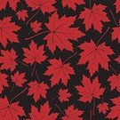 Outdoors,October,Nature,Pattern,Red,Vector,Season,Leaf,Ilustration,Botany,Backgrounds,Branch,Decoration,Computer Graphic,Forest,Autumn