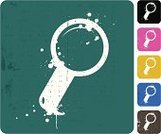 Magnifying Glass,Grunge,Gray,Spray,Black Color,Variation,Computer Icon,Yellow,Blue,Green Color,Digitally Generated Image,Drop,Symbol,Pink Color,Design Element,White Background,Design,Style,Vector,No People,Computer Graphic,Multi Colored