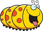 Insect,Ilustration,Pest,Smiling,Vector,Animal Tongue,Hungry,Happiness,Caterpillar,Cartoon,Clip Art,Computer Graphic,Cheerful,Animal