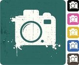 Camera - Photographic Equipment,Grunge,Symbol,Pink Color,Vector,Computer Icon,Design,Computer Graphic,Design Element,Green Color,Spray,Digitally Generated Image,Style,Black Color,Blue,Gray,Yellow,Drop,Multi Colored,White Background,No People,Variation
