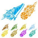 Flame,Speed,Ilustration,Symbol,Sport,Vector,Fire - Natural Phenomenon,Placard,Basket,Ink,Abstract,Fun,Burning,Sphere,Shape,Backgrounds,Equipment,Creativity,Pattern,Decoration,Flying,Sign,Red,Computer Graphic,Heat - Temperature,No People,NBA