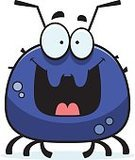 Mite,Insect,Ilustration,Parasitic,Pest,Vector,Tick,Happiness,Cheerful,Cartoon,Bedbug,Clip Art,Flea,Smiling,Computer Graphic,Animal
